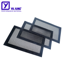 Easily cleaned Application for BBQ High Temperature Resistant BBQ Grill Mesh Mat