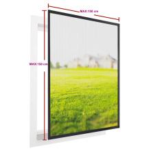 Aluminum fix window screen with fiberglass screen