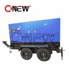 Electric Dynamo Generator 60 kVA Trailer Silent Diesel Generator 50 Kw