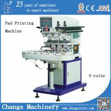 Máquina de impressão de almofada de cor única espião