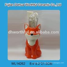 Керамический кухонный держатель для горячей продажи с фигурой лиса