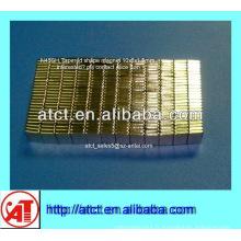 Aimant néodyme bloc mince