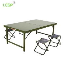 steel army folding desk