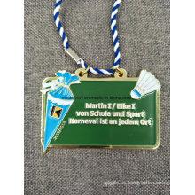 Medalla de esmalte de recuerdo personalizada a presión