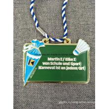 Подгонянное Медаль Эмали Заливки Формы Сувенира