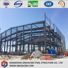 Edificio comercial de estructura de acero con entresuelo