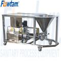 sanitary liquid powder mixer
