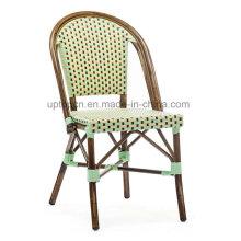Patio Armless Aluminum Cafe Tea Restaurant Chair (SP-OC357)