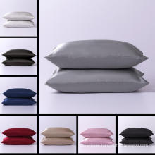 Solid 100% Satin Silk Standard Sleeping Pillow Case
