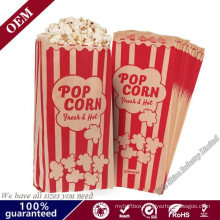 Various Size Fast Shipping Greaseproof Food Packing Microwave Popcorn Paper Bag