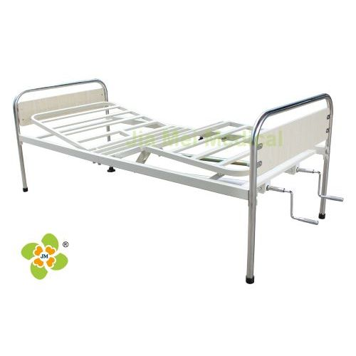 Cama de paciente de hospital manual de manivela