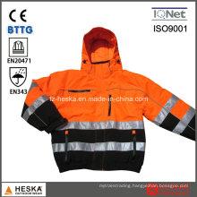 Customized Men Reflective Safety Jackets