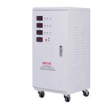 20kw  electron voltage stabilizer 3 phase servo motor automatic voltage regulator