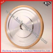Rueda plana del lápiz de la rueda del borde del diamante de la alta calidad para el vidrio