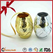 Schillernde Weihnachten Devative Party Curly Ribbon Eggs