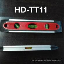 HD-T11plastic spirit level ,magnet