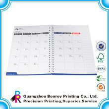 2015 China custom wholesale printing year colorful custom design desk planner calendar