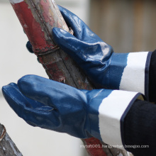 NMSAFETY EN388 4111 jersey liner coated nitrile industrial glove