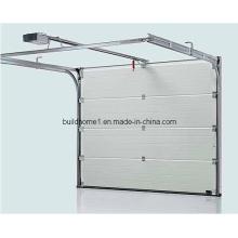 Porta de garagem seccional em alumínio