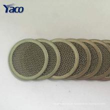 Discos de filtro de aço inoxidável aglomerados resistentes à corrosão da amostra grátis