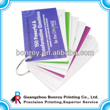 Ringbindung Flip-Kartenbuchdruck