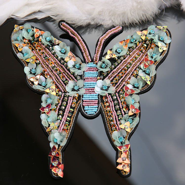 Sequin Butterfly Embroidery