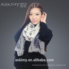 2015 fashion wool cashmere scarf