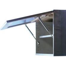 Mola a gás hidráulica ajustável giratória para móveis para caixas de ferramentas