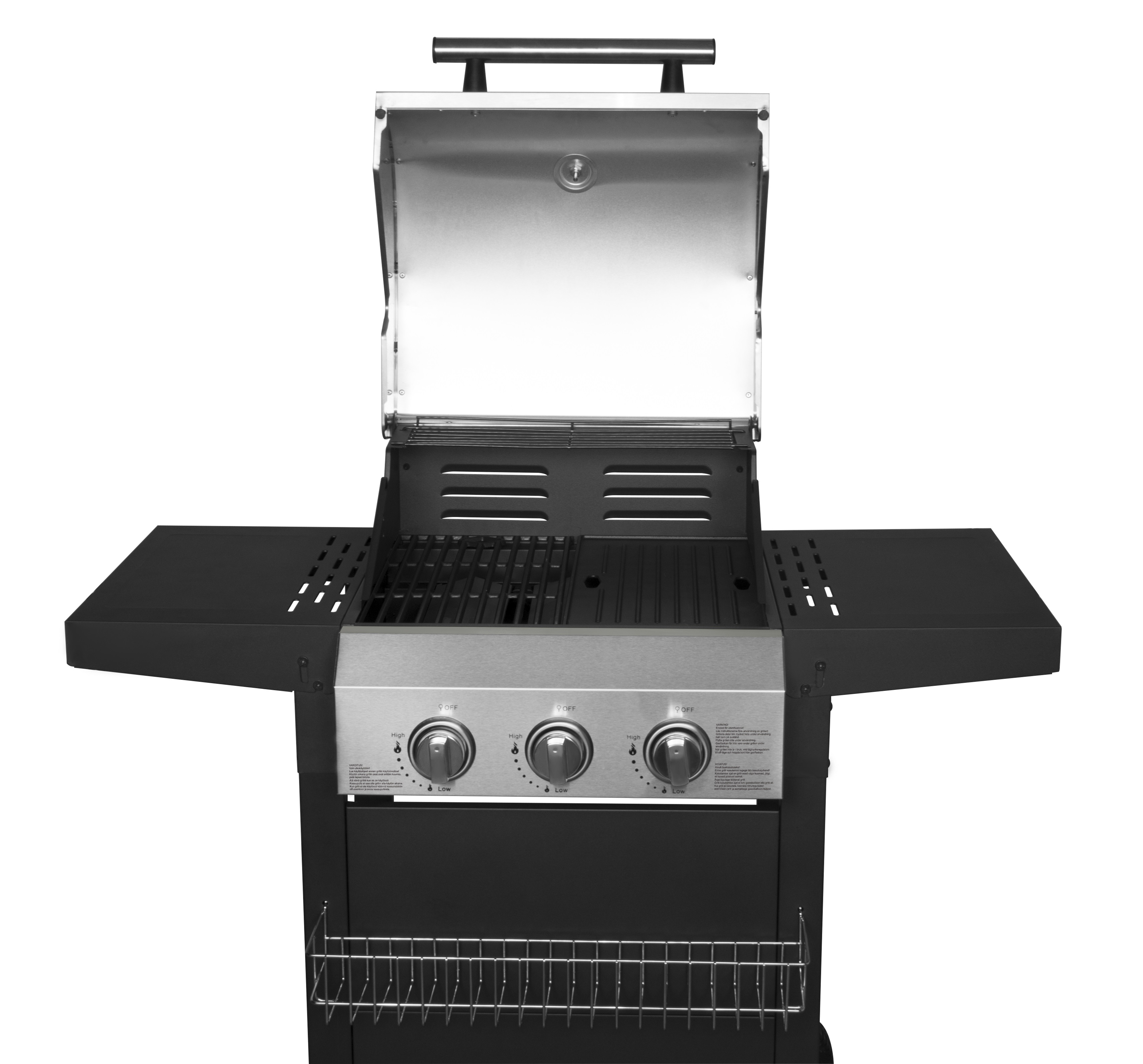 Folding Table Gas BBQ Grill