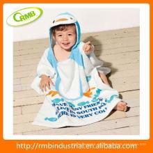 Tiere Kinder Bademantel