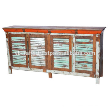 recycle wooden sideboard