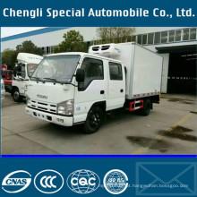 Caminhão de caixa 600P 3tons Isuzu congelador