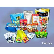 O saco plástico do alimento do vácuo da folha de alumínio / ziplock resealable levanta-se o malote para o saco do alimento