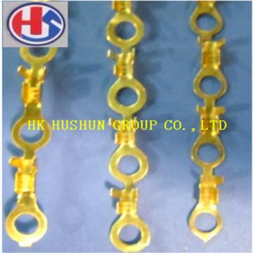 Fornecimento de cabo de latão Open Lug Terminal da China Factory (HS-BW-020)