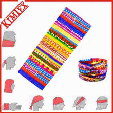 Multifunctional Polyester Seamless Knitted Magic Bicycle Bandana Headwear