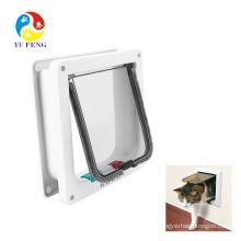 Pet supplies pet door replacement cat flap 4 way locking dog cat door Pet supplies pet door replacement cat flap 4 way locking dog cat door