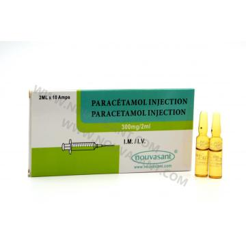 Paracetamol 300mg / 2ml inyectable