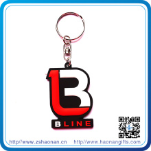 Customized Promotional Gifts 3D Soft Rubber PVC Keychain