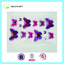 PVC butterfly 3D stickers
