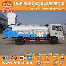 DONGFENG 4x2 LHD/RHD 8000L high pressure cleaning truck 190hp cummins engine