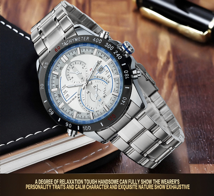 vogue Swiss Movement Business Luxury Watches