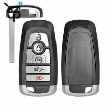 Best price OEM 4+1button car key shell smart for Ford car key fob blank blank car key blade
