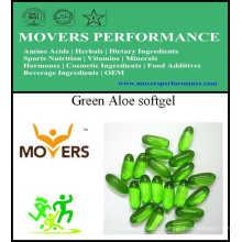 Grüne Aloe Softgel / pflanzliche Kapsel / keine Konservierungsstoffe