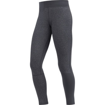Lady fitness running pantalón largo negro