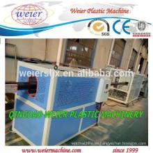 Tubería de PE con marca línea fabricación de línea de extrusión de la máquina