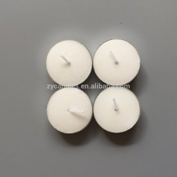 Mini Bulat Cangkir bening White Tealight Candles
