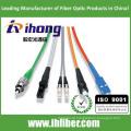 SC LC FC cabo de remendo óptico da fibra do ST