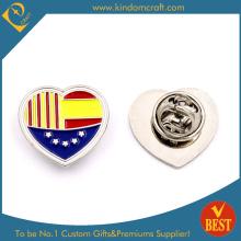 Lover Espagne Pin élastique en revers avec nickelage