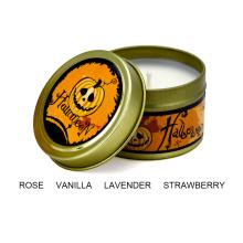Роскошные ароматические свечи для ароматерапии с персонализированными благовониями