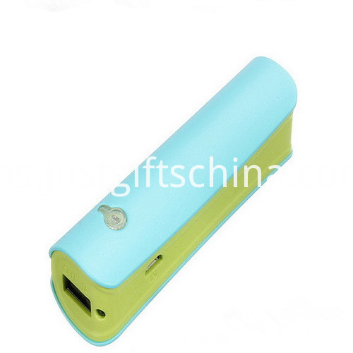 Promotional Led ABS Power Bank 2600mAh_3